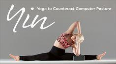 Yin Yoga to Counteract Computer Posture