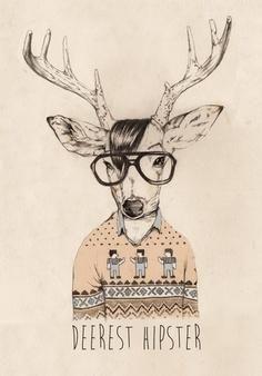 hipster animals - Google Търсене