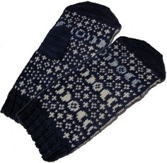 Ravelry: Blue Moon Mittens pattern by SpillyJane