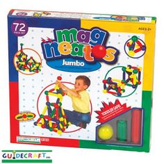 Magneatos Jumbo Magnetic Construction Toys Best Toys for Daycares