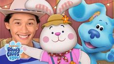 Josh & Blue Skidoo into a Bunny Dance Party! | Blue's Clues & You!