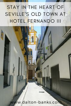 There are two main reasons to stay at Hotel Fernando III in the heart of the old town of Seville. Location and its rooftop swimming pool!