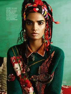Bharat Sikka for the Vogue India October 2015 issue.