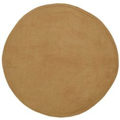 Buckskin Tan Suede Charger-Center Round Placemat by Sweet Pea Linens. $5.95. Center Round work great as an accent in the center of either a round or rectangle table or they can be used as a charger on any table. Sold individually.. Machine Wash/Dry Flat.. Measures approximately 13 inches across.. 100% Polyester outer, with 100% Polyester fill.. Reversible design.. Buckskin Suede Look Center Round Placemat. Front and back is a solid polyester suede look. Has a thin batt...