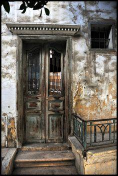 Old Door in Beirut