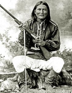 Alchesay, White Mountain Apache. Scout for General Crook.