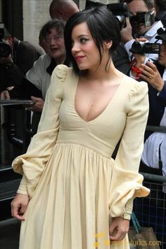 Your boobs are almost as awesome as your lyrics, Lily Allen