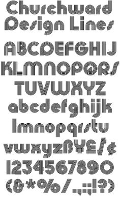 Bowfin Printworks - Font Identification - Type Samples - Lined, Inline & Multiline Fonts Font Identification, Can Design, Inline, Typography, Graphic Design, Type, Designer Fonts, Letterpress, Letterpress Printing