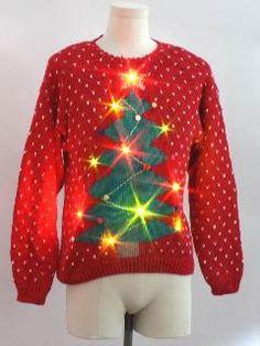 Urban Renewal Vintage Ugly Christmas Cardigan Sweater