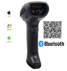 145.00$  Watch now - http://aliaoy.worldwells.pw/go.php?t=32501604374 - LS07B Black Rugged Industrial Wireless 2D Bar Code Scanner,Bar code Reader for Ios, Android,Windows Device
