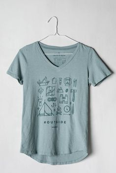 Womens Outside Tee | United By Blue // @jenkhall