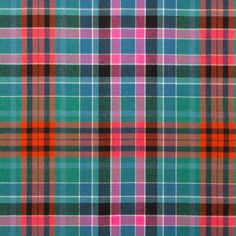 25 yards choice of 5 widths Authentic Clan Campbell Tartan Plaid Ribbon