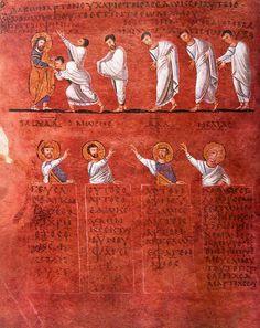 Calabria-Arte e Cultura-Codex Purpureus Rossanensis-Tav.6