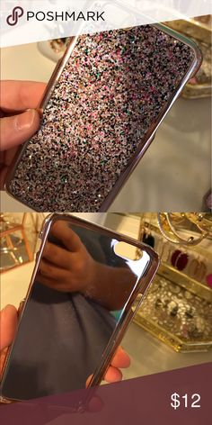 iPhone 6 sparkle case Excellent condition Accessories Phone Cases