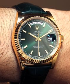 Rolex Day-Date 36mm Watches Hands-On