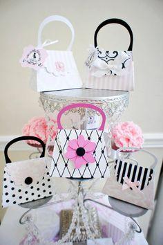 Image result for paris party purse favor box