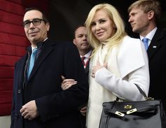 Louise Linton Goes From the Lap of Luxury to the Center of a Social Media Storm