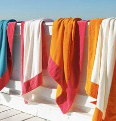 Gillian Weir Ltd.  Abyss finest #beachtowel collection