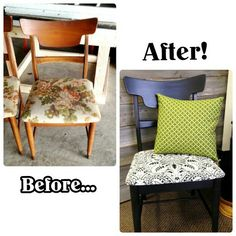 Chair Seat Upholstery 101 class at Salvaged Decor in Brooklyn, MI