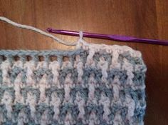 A Stitch At A Time for Amy B Stitched: Cool Comfy Throw FREE crochet pattern