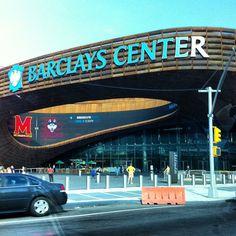 Barclays Center in Brooklyn, NY