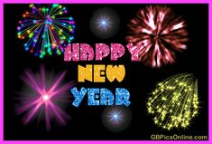 Happy new year GIF for New Year greetings and wishes. New Year Fireworks GIF. Tap to see more animated Happy New Year Greetings GIF as Greeting cards, new year wishes & messages for Messengers, Whatsapp and Emails. Happy New Year 2017 Gif, Happy New Year Fireworks, Happy New Years Eve, Happy New Year Quotes, Happy New Year Images, Happy New Year Wishes, Happy New Year Greetings, New Year 2018, Year 2016