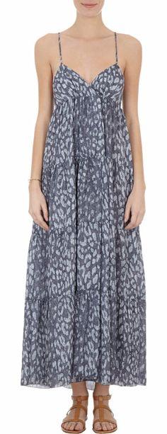 L'Agence Crossover-back Dress at Barneys.com