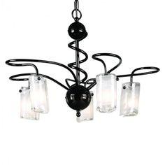 Elstead Saturn Five light chandelier Black Chandelier, Chandelier Lighting, Chandeliers, Wall Lights, Ceiling Lights, Best Black, Light Decorations, Candle Sconces, Candles