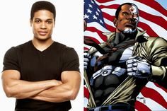 Spotted! Part 3: Batman v. Superman: Dawn of Justice | Dateline Movies: Ray Fisher as the mechanized Cyborg