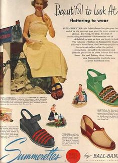 Vintage VIPs/ Celebrities in Ads of the (Page 1940s Fashion, Vintage Fashion, Mona Freeman, Vintage Outfits, Vintage Clothing, Vintage Ads, Movie Stars, 1950s, Fashion Outfits