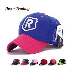 "NEW ""R"" Shield Unisex Men Women   Baseball Caps Snapback Hats Spring Autumn  Hip Hop Fitted Adjustabel Polo Hat"