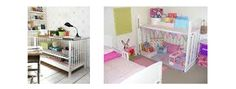 """Clever Ideas to Repurpose or """"Upcycle"""" an Old Crib 