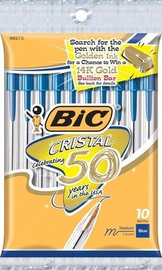 Steward of Savings : Save $1.00/1 BIC Stationary Product Coupon! FREE BIC Pens & Wite-Out @Rite Schultz Aid & Target!
