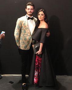 #MayaAli and #Osman at #LSA2016 Lux Style Awards 2016