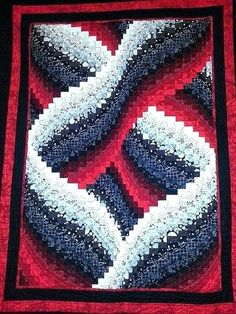 Pvqg Black White And Red Bargello Quilt Bargello Quilt Patterns For Sale Bargello Quilt Patterns In The Round Bargello Quilt Patterns Video
