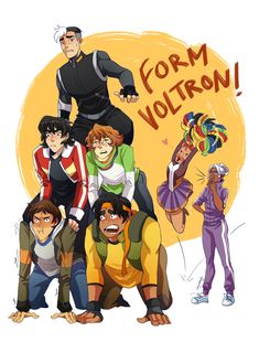 """inkydandy: """"Just watched the Voltron reboot and it is FUN. I love what they did with Pidge's character! I think I'm going to re-watch it until my computer breaks. """""""