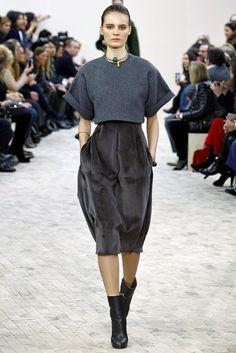 Céline Fall 2013 Ready-to-Wear Fashion Show - Tilda Lindstam