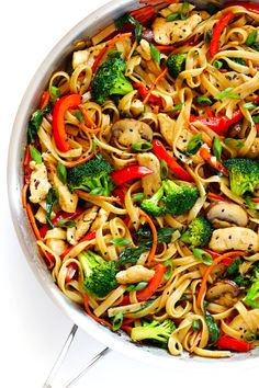 Really nice recipes. Every hour. • 30-MINUTE SESAME CHICKEN NOODLE STIR-FRY Really...