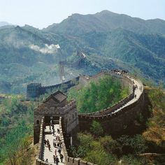 The Great Wall - China.