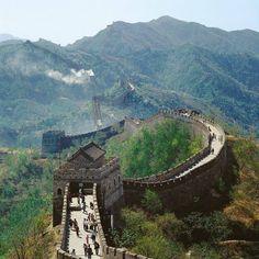 The Great Wall - China.