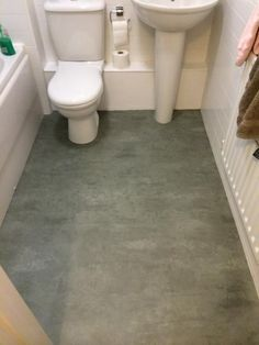 This Fashionable Yet Durable Sheet Vinyl Floor From Ivc Us