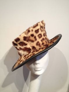 recycled vintage cheetah.. Cheetah, Cowboy Hats, Recycling, Vintage, Fashion, Moda, Fashion Styles, Vintage Comics, Upcycle