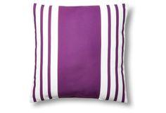 Zac 20x20 Outdoor Pillow, Purple