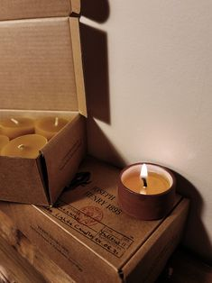 Beeswax Candles, Earthy, Tea Lights, Joseph, Vintage Inspired, Soap, Rustic, Simple, Color