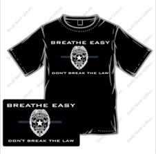 i can breathe cause i didn't break the law