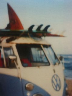 VW and surfboard