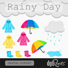 Rainy Day Clip Art