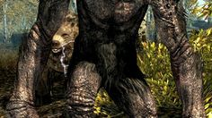 Troll (Skyrim) Blackwood Forest, Elder Scrolls Lore, Oblivion, Skyrim, Troll, Lion Sculpture, Creatures, Horses, Statue