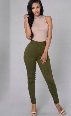 #softjeans #stretchyjeans #leggingsjeans #womenleggings #womenjeans #leggings #jeans Athletic Outfits, Gym Outfits, Fitness Outfits, Fitness Clothing, Women's Fashion Leggings, Women's Leggings, Yoga Fashion, Fitness Fashion, Jeggings