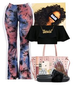"""Untitled #169"" by lanadabest on Polyvore featuring MCM, Charlotte Tilbury and Puma"